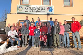 Alpen-Reds Vereinslokal: Gasthaus zur Schießstätte